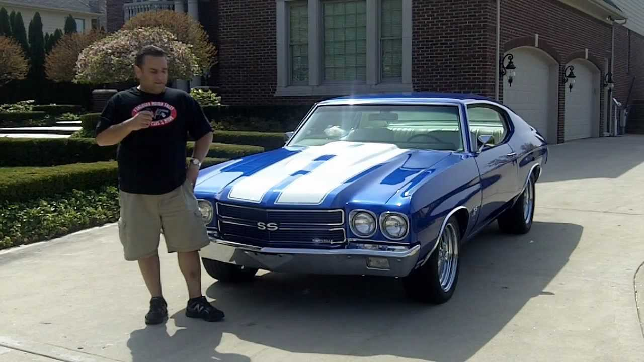 1970 chevy chevelle fuel injected classic muscle car for sale in mi vanguard motor sales youtube. Black Bedroom Furniture Sets. Home Design Ideas