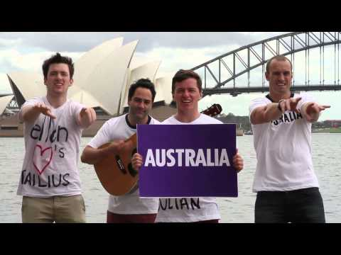 Aussie Lesson For Ellen (by Fitzy &amp; Wippa with Dailius &amp; Julian Wilson)
