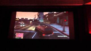 GTA 5 PLAYED ON CINEMA SCREEN ON RELEASE DATE