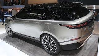 2019 Range Rover Velar. WalkAround Tour and Test Drive.