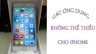 CÁC ỨNG DỤNG CỰC HAY CHO IPHONE