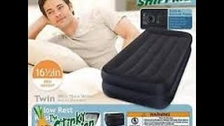 INTEX Pillow Rest Raised Twin Inflatable Bed