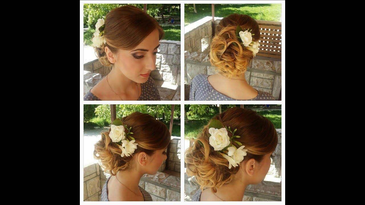 Свадебные прически с фото на все типы волос - Мир Позитива 74