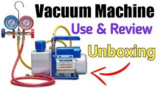 Best vacuum pump full use and review || use in Refrigeration & air conditioner field