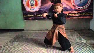 Pencak Silat Anak anak kecil Bandung