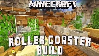 Minecraft: Underwater Roller Coaster Show Scene Design    (Scarland Coaster Build Ep.37)