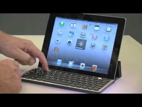 Bluetooth-Tastatur für Tablet-PCs von Apple, Samsung, HP von GeneralKeys (PX-3686-821),