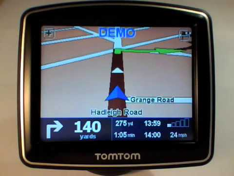 Homer VoiceSkin on TomTom ONE IQ Video