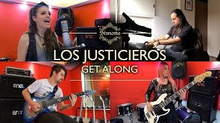 LOS JUSTICIEROS / Get along (Cover latino)