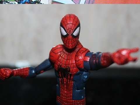 Review do The Amazing Spider-Man 2(O Espetacular Homem Aranha 2)-Marvel Legends Infinite Series