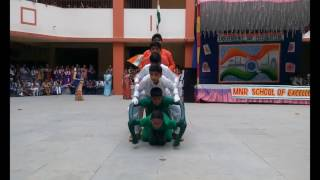MNR School, Kamothe    15th Aug, 2016    Vande Mataram (ABCD 2)