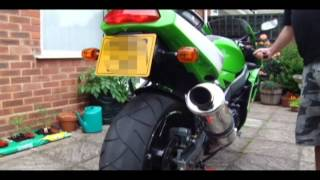 Kawasaki ZX6R F3 With Scorpion Exhaust .avi