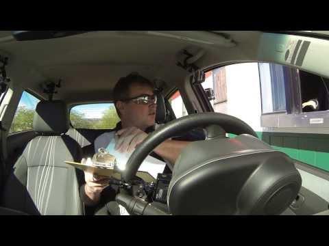 Rob Trudell drives Arizona SR-85 to Ajo, Arizona and buys Mexican Insurance, 2 Dec 2013, GP016487