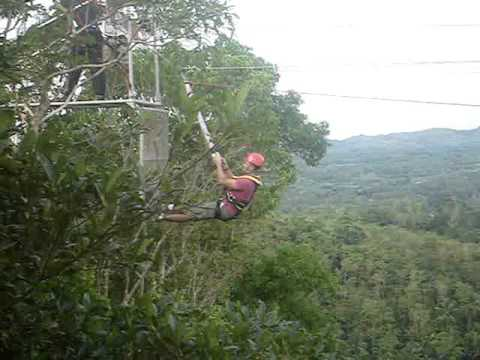 the Plunge-Danao, Bohol, Philippines