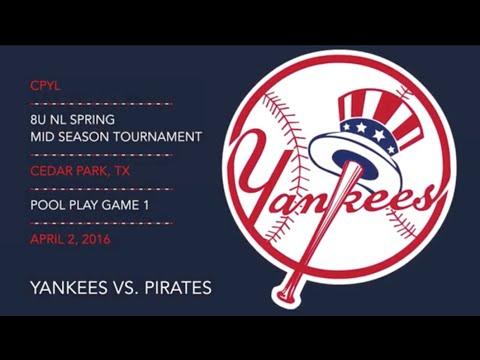 2016.04.02 Yankees vs. Pirates