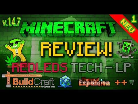 Redled`s Vintage Minecraft Tech.-LP World - REVIEW [Version 1.4.7] Teil 1