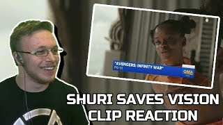 Avengers Infinity War Shuri Saves Vision Clip Reaction & Review