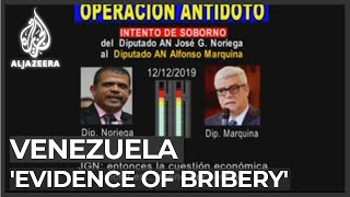 Venezuela opposition claims evidence of bribes