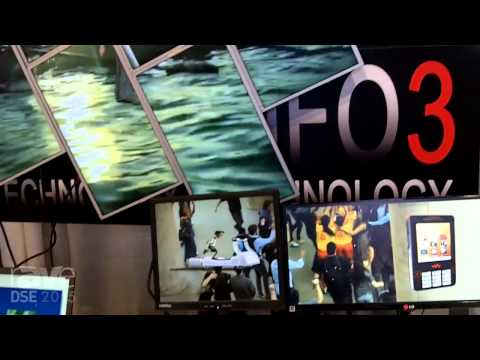 DSE 2015: Info3 Offers Video Wall Digital Signage Software With Layered Content