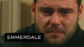 Emmerdale - Aaron Retells His Rape Story To Chas