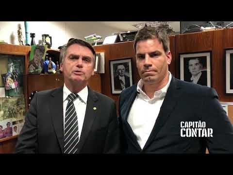 JAIR BOLSONARO E CAPITÃO CONTAR