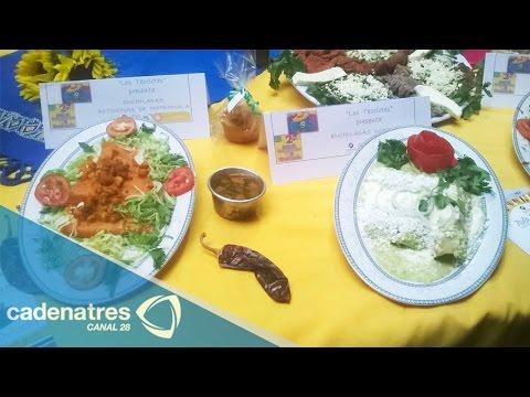 Inicia en Iztapalapa el Festival gastronómico de la enchilada 2014