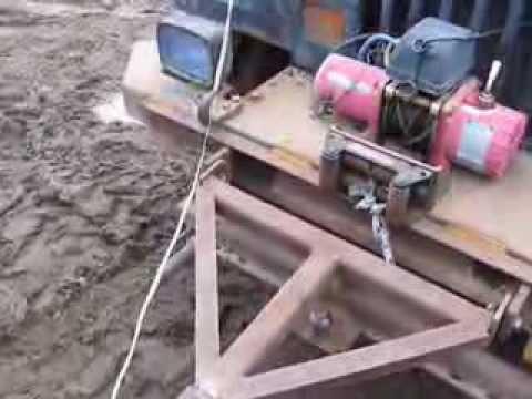 Homemade Jeep Tow Bar YouTube