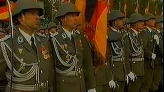 40 Jahre DDR East Germany Military Parade 1989
