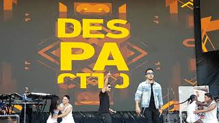"Download Lagu Luis Fonsi performs ""Despacito"" live in San Antonio Final Four 4K Gratis STAFABAND"