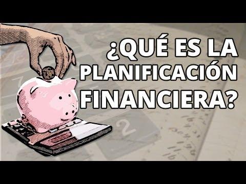 Qué es la planificación financiera