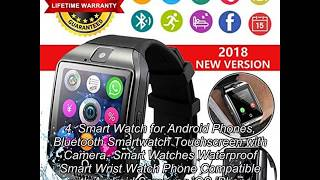 Top 10 Smart Watch Compatible With Iphone 6S – Buying Guide and Review in 2019