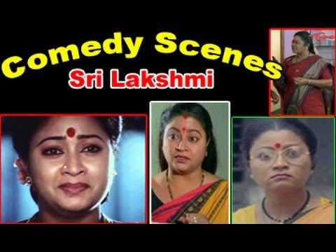 Comedian Sri Lakshmi Back To Back Best ‪Comedy Scenes