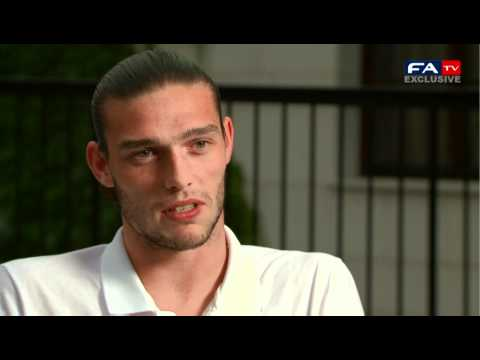 Andy Carroll Exclusive Interview | France v England | Euro 2012 FATV