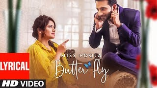 Butterfly: Miss Pooja Ft Ali Merchant (Full Lyrical Song) G Guri | Latest Punjabi Songs 2018
