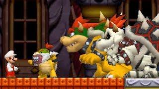 New Super Mario Bros DS Walkthrough - Finale - World 8