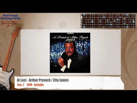 At Last - Arthur Prysock / Etta James Instrumental Guitar Backing Track with chords and lyrics