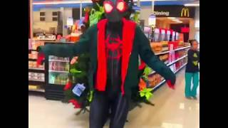 Spiderman Miles Morales Dancing Sunflower Swae Lee ft. Post Malone Song Spider-Man Spiderverse