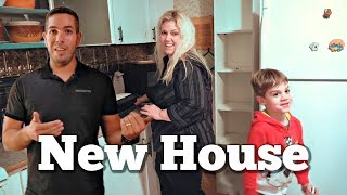 First Look at Our New House
