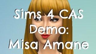 Sims 4 Create a Sim - Misa Amane