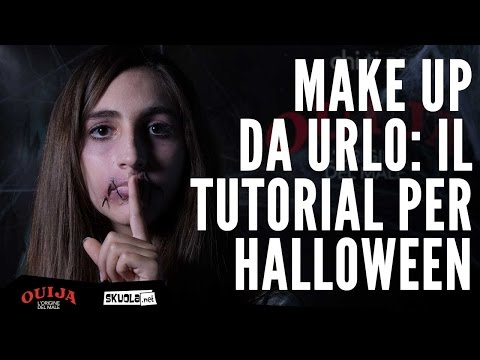 Make up Ouija: il tutorial per Halloween