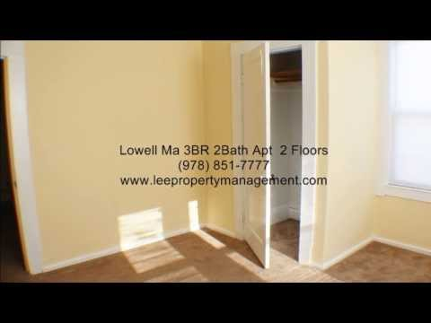 Lowell Ma 01851 Highlands 3 BR with 2 Baths and 2 floors ready January 1 or Sooner
