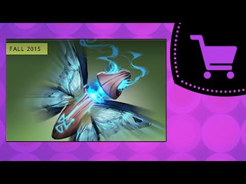 Dota 2 Открытие сокровищниц Fluttering Cache