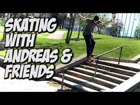 SKATING WITH ANDREAS, DONNY & FRIENDS !!! - NKA VIDS -