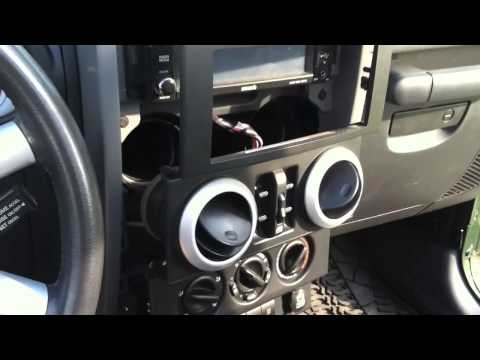 How To Install CB Radio In A Jeep Wrangler Or Other Truck / Car