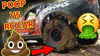 (VOMIT WARNING) Traxxas UDR Nails DOG POOP RC Car Fail