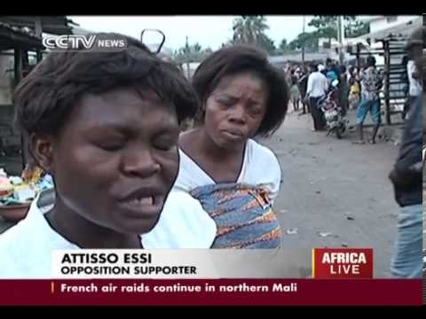 Togo′s opposition takes to the streets CCTV News