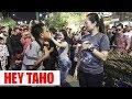 BIKIN KETAWA !!! ANAK SMP JOGET BARENG VITA -- HEY TAYO -- ANGKLUNG RAJAWALI MALIOBORO