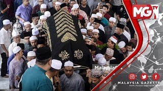 TERKINI : Perginya Tokoh Negara , Allahyarham Hassan Azhari dikebumi di Makam Diraja Selangor