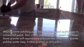 Granite Counter Polishing - Granite polishing and sealing Orange County, CA