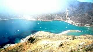 On top of the Catalina Island Two Harbors one of the Mountains On My Birthday part 1